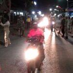Personil Gabungan Patroli Malam, Warga Diminta Hentikan Aktivitas
