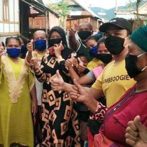 Ambil Andil Cegah Covid-19, Milenial Syafa'ad Kecamatan Belo Bagikan Masker Gratis