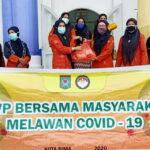 DWP Kota Bima Peduli Honorer, Salurkan 400 Paket Sembako