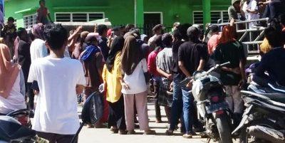 Tuntut Transparansi Kelola Dana Desa, APDN Demo Pemdes Ngali