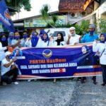 Ramadan, DPD Partai Nasdem Kota Bima Berbagi