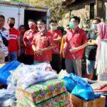 PSMTI Bantu Korban Kebakaran di Ngali