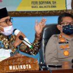 Putus Mata Rantai Covid-19, Walikota Bima Resmi Canangkan PSBK