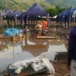 Kerugian Akibat Banjir Rob di Pasar Amahami Belum Ditaksir, Bagaimana Nasib Pedagang?