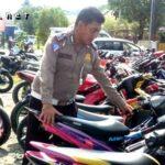 Polisi Amankan 19 Motor Berknalpot Racing