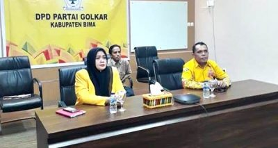 Diduga Bupati Bima Pakai Fasilitas Negara untuk Vicon dengan DPP Golkar