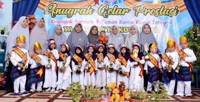 KB Yaa Bunayya Helat Anugerah Prestasi Anak Mandiri