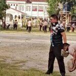 HUT Bhayangkara, Polres Bima Kota Bersihkan Tempat Ibadah