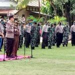 Kapolda dan Danrem Pompa Semangat Pengabdian Prajurit di Bima