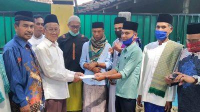 Almarhumah Annisa H Musa Wakafkan Tanah 6 Are untuk Kuburan di Kelurahan Santi