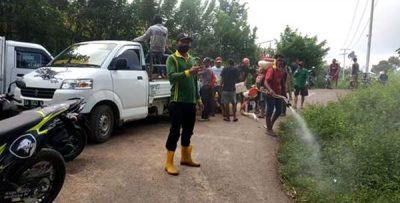 Budaya Gotong Royong di Desa Riamau Masih Terjaga