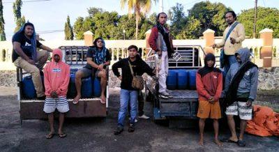 Sat Narkoba Amankan 60 Jerigen Sofi di Kecamatan Sape