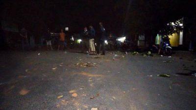 TNI Polri Bubarkan Tawuran Kelompok Warga di Kota Bima