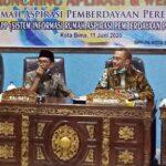 Tingkatkan Pelayanan Informasi, DPPPA Kota Bima Launching Aplikasi SIRAPP
