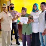 145 Warga Desa Sanolo Terima BLT Dana Desa Tahap Kedua
