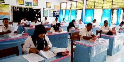 BKPSDM Kota Bima Gelar Ujian Dinas Kenaikan Pangkat