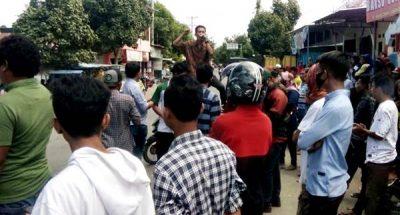 Demonstran Desak Kapolri Copot Kapolda dan Dir Reskrimsus Polda NTB