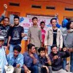 Barisan Muda Bumi Pajo Segel Kantor Desa