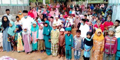 Sambangi 3 Desa di Langgudu, H Arifin Jaring Aspirasi Warga