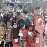 Blusukan H Arifin Santuni Anak Yatim dan Lansia Diikuti IDP, Artinya H Arifin Bawa Contoh Baik