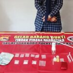Diduga Kepemilikan 8 Poket Sabu-Sabu, Wanita Ini Diancam 20 Tahun Penjara