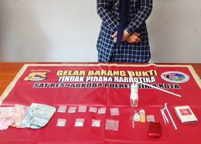 Diduga Edarkan Sabu-Sabu, Perempuan Ini Dibekuk Sat Narkoba