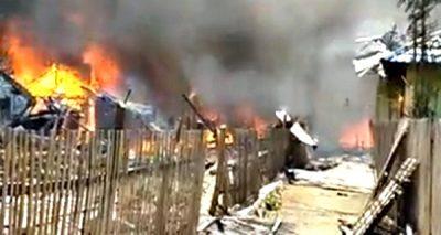 BPBD Pastikan Kebakaran di Ntonggu 45 Rumah, Bukan Ratusan