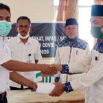 Baznas Salurkan Zakat Konsumtif untuk Honorer di RSUD dan PKM