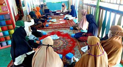 TK Al Mahasin Bima Gelar Kegiatan Pengimbasan untuk 20 Tenaga Pendidik