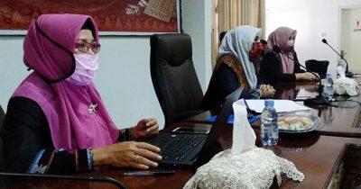 Ketua Dekranasda Kota Bima Hadiri Munas Dekranas Secara Virtual