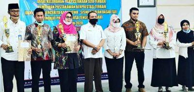 Ikut Lomba Perpustakaan Tingkat Provinsi NTB, SMAN 4 Kota Bima Raih Juara 3