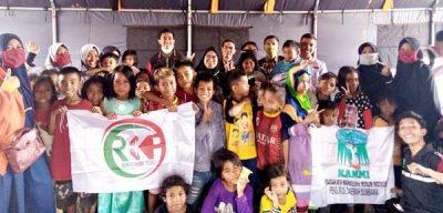 RKP Berikan Trauma Healing untuk Anak-Anak Korban Kebakaran Ntonggu