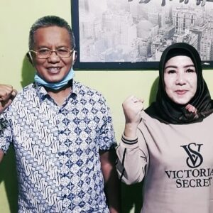 H Arifin Resmi Berpasangan Dengan Hj Eka Indra Kumala Djuwita