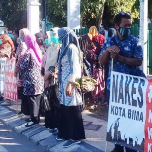 Demonstrasi Nakes Dituding Ada yang Memprovokasi