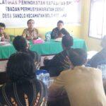 Pemdes Sanolo Gelar Pelatihan Peningkatan Kapasitas BPD
