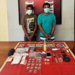 Sedang Asik Timbang Narkoba, 2 Pemuda Asal Melayu Dibekuk