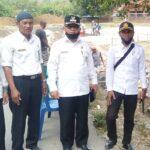 Camat Mpunda Letakan Batu Pertama Pekerjaan Dana Kelurahan di Santi