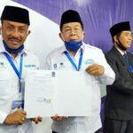 Pasangan Syafa'ad Resmi Terima SK dari DPW Partai Nasdem, Kader Diminta Taat dan Patuh