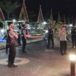 Kapolres Bima Pimpin Patroli Gabungan Skala Besar