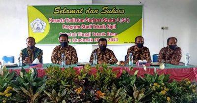 42 Mahasiswa STT Bima Diyudisium, Irfan: Jadilah Lulusan Berkontribusi untuk Daerah