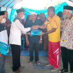 Baznas Kota Bima Bagikan Bantuan untuk Korban Kebakaran di Ntonggu