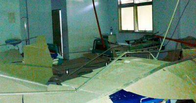 Plafon Ruangan Sal Bedah RSUD Bima Ambruk, Beruntung Pasien Cepat Dievakuasi