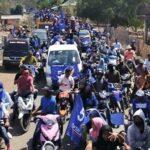Syafa'ad Dijemput Ribuan Pendukung