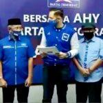 Paslon Bupati dan Wabup H Arifin-Eka Terima Surat Rekomendasi Partai Demokrat