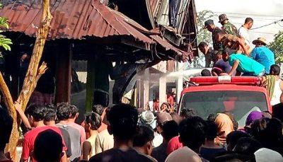 Kebakaran Lagi, 5 Rumah di Desa Samili Dilahap Api