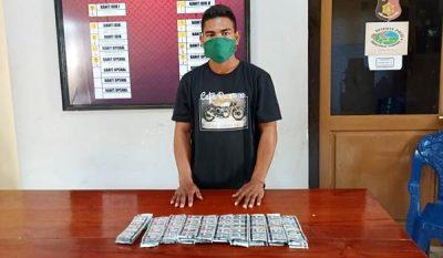 Polsek Ambalawi Amankan Pria Pengedar Obat THD
