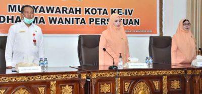 Dharma Wanita Persatuan Kota Bima Helat Muskot ke-IV