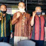 Disnaker Sosialisasi Perwali Tentang Penggunaan Masker