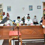 Walikota Bima Lantik 2 Pejabat di Dinas Pariwisata
