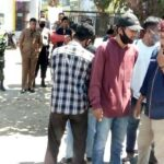 Demo Kantor Desa Rada, KMB Tuntut Kejelasan Pengembalian Uang BUMDes